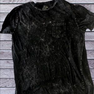 VINTAGE BLACK POCKET TEE Large